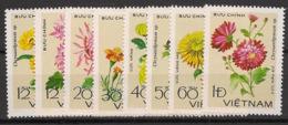 Vietnam - 1978 - N°Yv. 138 à 145 - Fleurs / Chrysanthèmes - Neuf Luxe ** / MNH / Postfrisch - Vietnam