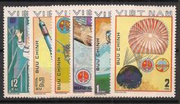 Vietnam - 1980 - N°Yv. 245 à 250 - Intercosmos - Neuf Luxe ** / MNH / Postfrisch - Vietnam
