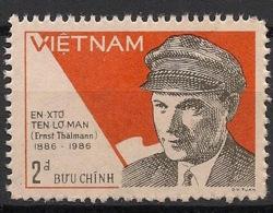 Vietnam - 1986 - N°Yv. 669 - Ernst Thalmann - Neuf Luxe ** / MNH / Postfrisch - Vietnam