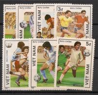 Vietnam - 1986 - N°Yv. 670 à 676 - Football World Cup Mexico - Neuf Luxe ** / MNH / Postfrisch - Vietnam