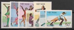 Vietnam - 1988 - N°Yv. 883 à 889 - Patinage Artistique - Neuf Luxe ** / MNH / Postfrisch - Vietnam