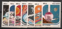 Vietnam - 1988 - N°Yv. 890 à 896 - Space / Espace - Neuf Luxe ** / MNH / Postfrisch - Vietnam