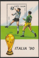 Vietnam - 1989 - Bloc Feuillet BF N°Yv. 48 - Football World Cup Italia 90 - Neuf Luxe ** / MNH / Postfrisch - Vietnam