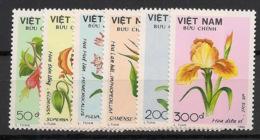 Vietnam - 1989 - N°Yv. 970 à 975 - Fleurs - Neuf Luxe ** / MNH / Postfrisch - Vietnam