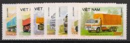 Vietnam - 1990 - N°Yv. 1031 à 1037 - Camions - Neuf Luxe ** / MNH / Postfrisch - Vietnam