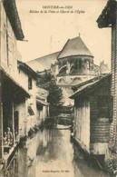 52 - Montier En Der - Rivièrt De La Voire Et Chevet De L'Église - Animée - Oblitération Ronde De 1926 - Voir Scans Recto - Montier-en-Der