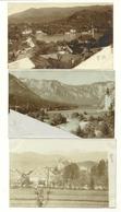 6 Fotokarten - Veldes - Bled - Einige Foto Lergetporer - Um 1900 - Slovénie