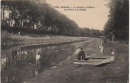 17 SAUJON  La Seudre à Ribérou  La Pêche à La Trable - Saujon