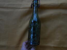 Bouteille - Verre Vert - Perrier St Hippolyte Du Fort- Excelsior - Petit Modèle - - Cerveza