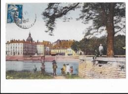 Chalon-sur-Saône - Rond-Point De L'Hôpital - édit. C.I.M. Combier Macon  + Verso - Chalon Sur Saone