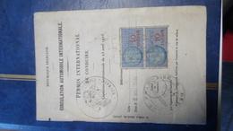 Permis De Conduire Internationale Automobile 1946 Nord Roubaix - Verneuil-sur-Avre