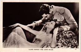 CPA AK LILIAN HARVEY. JOHN BOLES. FILM STAR (601193) - Attori