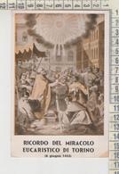 Torino Ricordo Del Miracolo Eucaristico - Churches