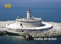 Portugal Lisbon Bugio Lighthouse New Postcard Leuchtturm AK - Faros