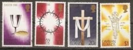 Cayman Islands  1981    SG 526-9  Easter  Unmounted Mint - Iles Caïmans