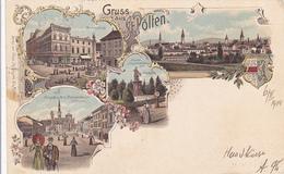 Cpa ( Litho )-autriche /austria-st Polten - Gruss Auss ... - St. Pölten