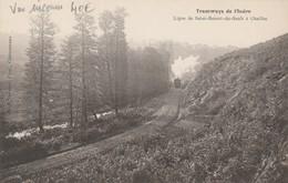 Tramways De L'Indre Ligne De Saint Benoit Du Sault à Chaillac RARE - France