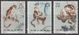 PR CHINA 1963 - Snub-nosed Monkeys CTO OG XF! - 1949 - ... Volksrepublik