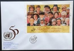 United Nations Geneva 1995 F.D.C. - Cartas
