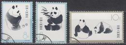 PR CHINA 1963 - Giant Panda CTO OG XF - 1949 - ... Volksrepublik