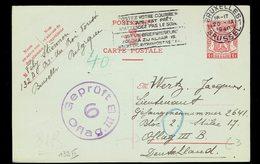 CP 132 II Bruxelles 20 IX 1940 +> Oflag III B En Allemagne Censure De L' Oflag - Entiers Postaux