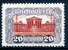 Mi. 291 B (L 11 1/2) Falz - 1918-1945 1. Republik
