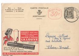 Publibel - 1496 - LA LOUVE - MACHINE A TRICOTER - COUILLET - EBEN-EMAEL - 1958. - Publibels