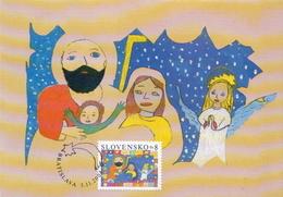 Slovakia Maximum Card - Christmas
