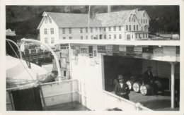 Carte-Photo - A Identifier - Norway - Sognefjord - Entreprise De Sardines - Postkaarten