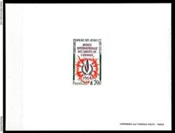 Afars Et Issas 342 Deluxe Proof. Epreuve De Luxe. Human Rights - Briefmarken