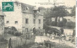 CPA 61 Orne Environs De FLERS - Le Moulin D'Hariel - Route De Flers à La Chapelle-Biche - Attelage - Flers