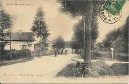 88 - Vosges - Saint Nabord - Route De Remiremont - La Gare - Saint Nabord