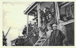 Soldats Au Repos - 1914-1918 - N'a Pas Circulé - Edition RELDIAN, Bruxelles - Manoeuvres