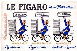 Buvard Journal Le Figaro. - Buvards, Protège-cahiers Illustrés