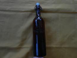 Bouteille - Verre  Brun -  Bière Velten - E V - - Cerveza