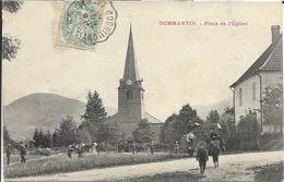 88 - Vosges - Dommartin Les Remiremont - Place De L'Eglise - Autres Communes
