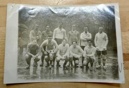 Photographie Frans Demol Avec L'Union St-Gilloise (Coppée Et Thys,...) Années 20 - Cachet Midi-Union Supporters - Sports