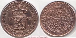 Indie Orientali Olandesi ½ Cent 1945 Km#314.2 - Used - India