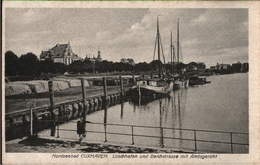 ! Alte Ansichtskarte Aus Cuxhaven, Hafen, Harbor - Cuxhaven