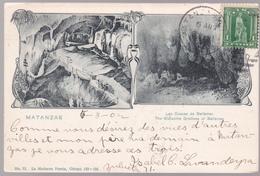 CPA CUBA - Matanzas - Las Cuevas De Bellamar-  1902 - Cuba