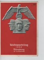 68PR/ Deutches Reich PK Reichsparteitag 1935 Nürnberg 10-16 Sept. C.Nürnberg 11/9/35 N.S.D.A.P - Briefe U. Dokumente