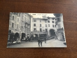 Lugano Piazza Funicolare - Switzerland