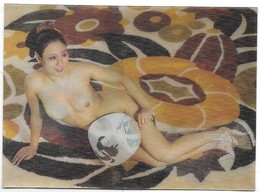 Donnina Giapponese Sexi - Erotica - Cartolina Lenticolare - Stereoscopica. - Stereoscopic Views