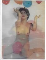 Donnina Giapponese Sexi - Erotica - Cartolina Lenticolare - Stereoscopica. - Stereoscopiche
