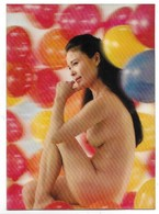 Donnina Giapponese Sexi - Erotica - Cartolina Lenticolare - Stereoscopica. - Stéréoscopiques