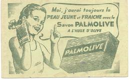 BUVARD PALMOLIVE  Savon A L'huile D'olive - Parfum & Kosmetik