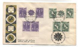 Israel ZODIAC FDC 1965 - FDC
