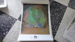 Affiche Philatélique 43 Cm X 61 Cm Reproduction D'un Tableau D'Odilon Renon - FDC