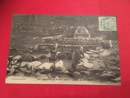 Lavandières En 1905  à Pont L'Abbé Fontaine Lavoir Du SULER Toute La Bretagne Environs De `Quimper, - Pont L'Abbe