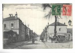 95 - SARCELLES - Boulevard De La Gare. Attelage - Sarcelles